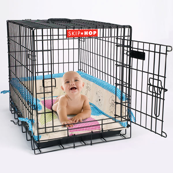 Baby in crate copy