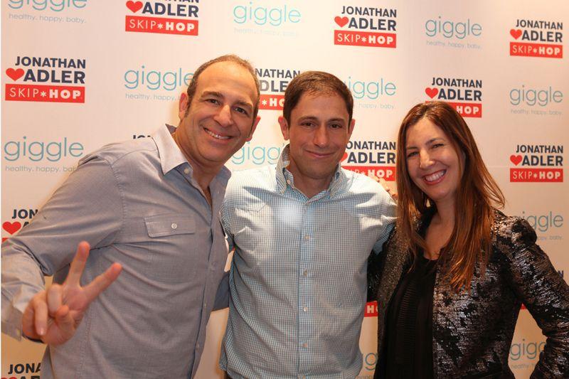 Michael Diamant, Jonathan Adler, Ellen Diamant